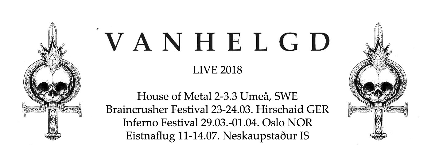 Vanhelg shows 2018